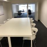 Flex-kantoor vergaderzaal